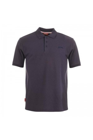 Slazenger Polo T-shirt μωβ