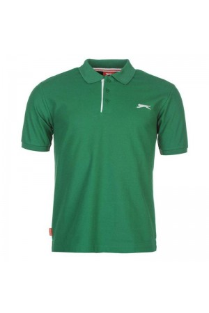 Slazenger Polo T-shirt πράσινο