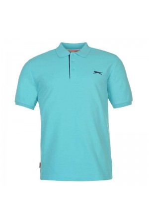 Slazenger Polo T-shirt τιρκουαζ