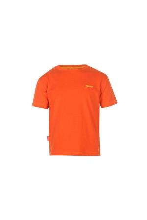 Slazenger T-shirt-παιδικο-5-6 χρονων κοκκινο