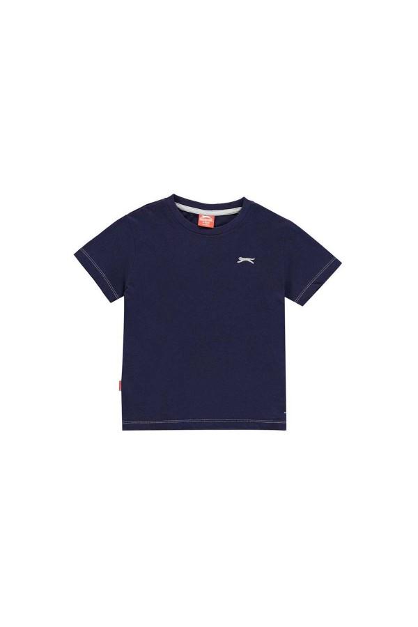 Slazenger T-shirt-παιδικο-3-4 χρονων-μπλε