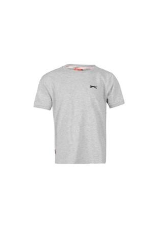 Slazenger T-shirt-παιδικο 7-8 χρονων γκρι