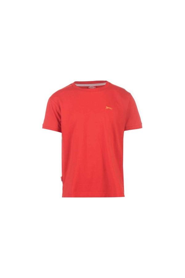 Slazenger T-shirt-παιδικο 13 χρονων κοκκινο