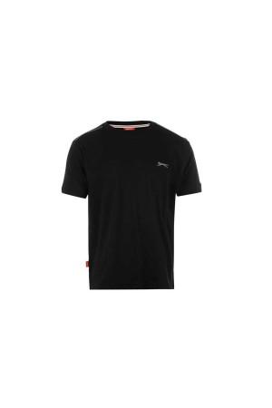 Slazenger T-shirt-παιδικο 11-12 χρονων μαυρο
