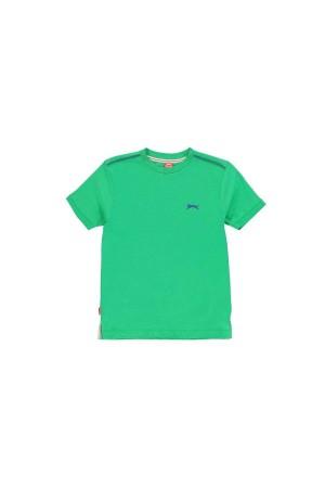 Slazenger T-shirt-παιδικο 9-10 χρονων πρασινο