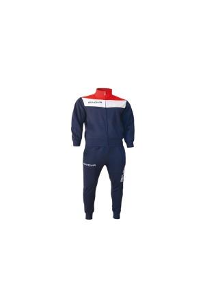 Givova Tuta Campo TR024-0412-μπλε-κοκκινο-λευκο