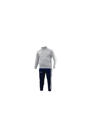 Givova Tuta Scuola Junior LF31-4304-γκρι μελανιζε-μπλε-λευκο